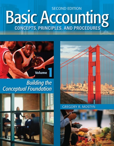 Image of Basic Accounting Volume 1 2nd Edition